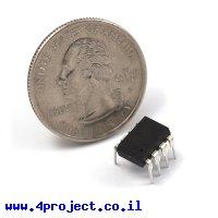 בקר AVR ATtiny85 8Pin 20MHz 8KByte 4A/D