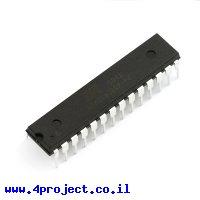בקר AVR ATMega328 28Pin 20MHz 32KByte 6A/D