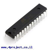 בקר AVR ATMega168 28Pin 20MHz 16KByte 6A/D