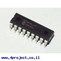 בקר PIC 16F88 18Pin 20MHz 7KByte 7A/D