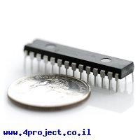 בקר PIC 18F2455 28Pin 48MHz 24KByte 10A/D USB