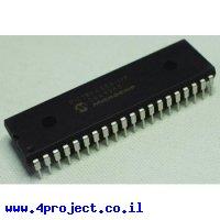 בקר PIC 18F4550 40Pin 48MHz 32KByte 13A/D USB