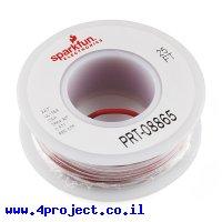 חוט רב גידי להלחמה - AWG22 - אדום - 7.5 מטר