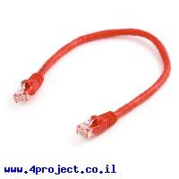 """כבל Ethernet RJ45 איכותי - 30 ס""""מ"""