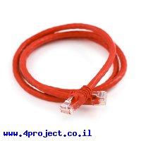 """כבל Ethernet RJ45 איכותי - 90 ס""""מ"""