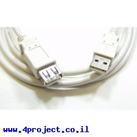 כבל USB מאריך באורך 3 מטר