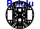 """תמונה של מוצר פלטפורמה RRC04A בקוטר 127 מ""""מ - צבע שחור"""