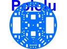 """תמונה של מוצר פלטפורמה RRC04A בקוטר 127 מ""""מ - צבע כחול בהיר"""