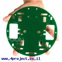 """פלטפורמה RRC01A בקוטר 127 מ""""מ - צבע ירוק"""