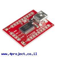 מתאם USB ל-Serial בעזרת רכיב FT232RL - גרסה קודמת
