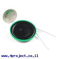 רמקול דק - 0.5W 8 Ohm