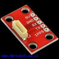 כרטיסון עם מחבר למודול GPS EM-401/EM-406/EM-506 - גרסה קודמת
