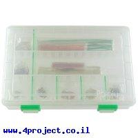 חוט גישור למטריצה - ערכה של 350 חוטים באורכים שונים בקופסה