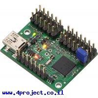 בקר מנוע סרוו 12 ערוצים מורכב - USB/TTL