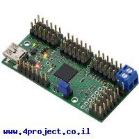 בקר מנוע סרוו 24 ערוצים מורכב - USB/TTL