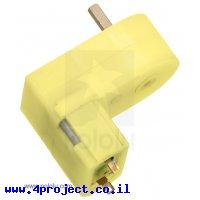 מנוע מיני פלסטי 80rpm @ 4.5V דגם LP - זווית