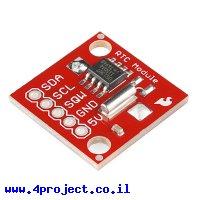 שבב שעון DS1307 על כרטיסון - גרסה קודמת