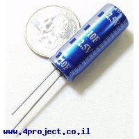 קבל אלקטרוליטי 10 פאראד 2.5 וולט - Super Capacitor
