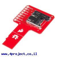 כרטיסון רחרחן כרטיסי זכרון - microSD sniffer