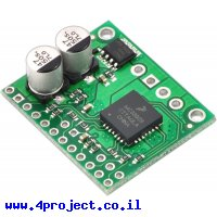 בקר מנוע DC עד 2.5A עם חיישן זרם - רכיב MC33926