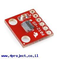 כרטיסון עם מחבר למודול GPS GP-2106