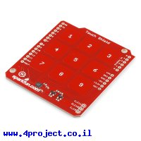 מגן Arduino לוח מקשים קיבוליים - גרסה קודמת