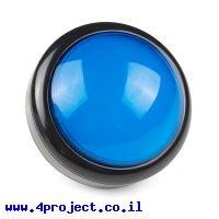 כפתור כיפה גדולה - כחול