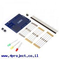 מגן Arduino אב-טיפוס 1.0 - ערכה להרכבה