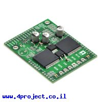 מגן Arduino - בקר לשני מנועי DC עד 24V/12A - גרסה קודמת