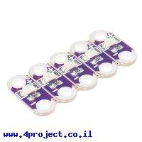לד ל-LilyPad - כחול - ערכה של 5 יחידות