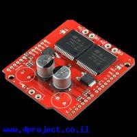 מגן Arduino - דוחף מנוע MonsterMoto