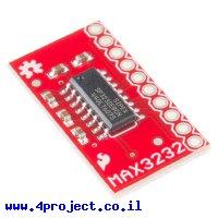 שבב תקשורת RS232 - MAX3232 על כרטיסון