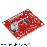 בקר מנוע צעד מבוסס על L6470 - גרסה קודמת