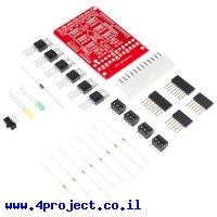 מגן Arduino - שליטה במתח/זרם גבוה - ערכה להרכבה