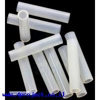 """ספייסר פלסטיק עגול 3.3/5 מ""""מ, אורך 25 מ""""מ - חבילה של 10"""