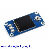 """מסך LCD 1.3"""" 240x240, ממשק RPi"""