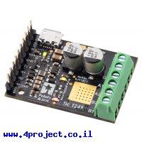 בקר מנוע צעד עם מגוון ממשקים Tic T249 - מורכב