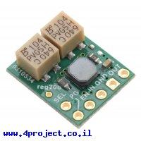מודול ממיר מתח (מעלה/מוריד) 2.5-9V/1.5A - דגם S9V11MACMA - כיוון מתח ניתוק