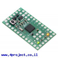 כרטיס פיתוח Arduino A-Star 328PB Micro - 3.3V, 8MHz