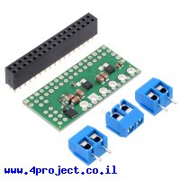 בקר מנוע DC ל-2 מנועים עד 1.7A - רכיב MAX14870 - צורת תוסף ל-Raspberry PI