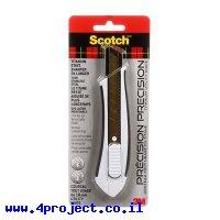 """סכין חיתוך עם להב טיטניום - רחב (18 מ""""מ) 3M"""