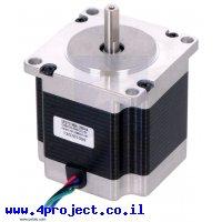 מנוע צעד 200 צעדים, NEMA 23, 2.5V/2.8A