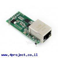 מתאם Ethernet ל-UART 3.3V