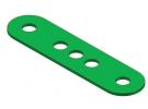 תמונה של מוצר פס מחורר - 4 חורים + חור אמצעי