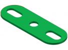 תמונה של מוצר פס מחורר עם חורים ארוכים בקצוות - 3 חורים