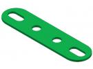 תמונה של מוצר פס מחורר עם חורים ארוכים בקצוות - 4 חורים