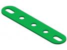 תמונה של מוצר פס מחורר עם חורים ארוכים בקצוות - 5 חורים