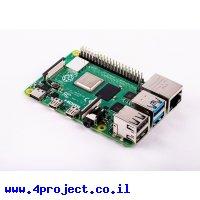 כרטיס פיתוח - Raspberry Pi 4 - דגם B עם 4G זכרון