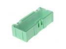 """תמונה של מוצר קופסה מודולרית לאחסון רכיבים - 75x31.5x21.5 מ""""מ - ירוק"""