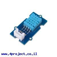 חישן לחות וטמפרטורה DHT11 - חיבור Grove